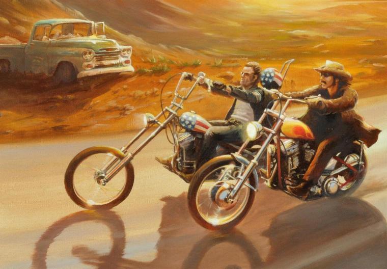 Easy rider movie bikes